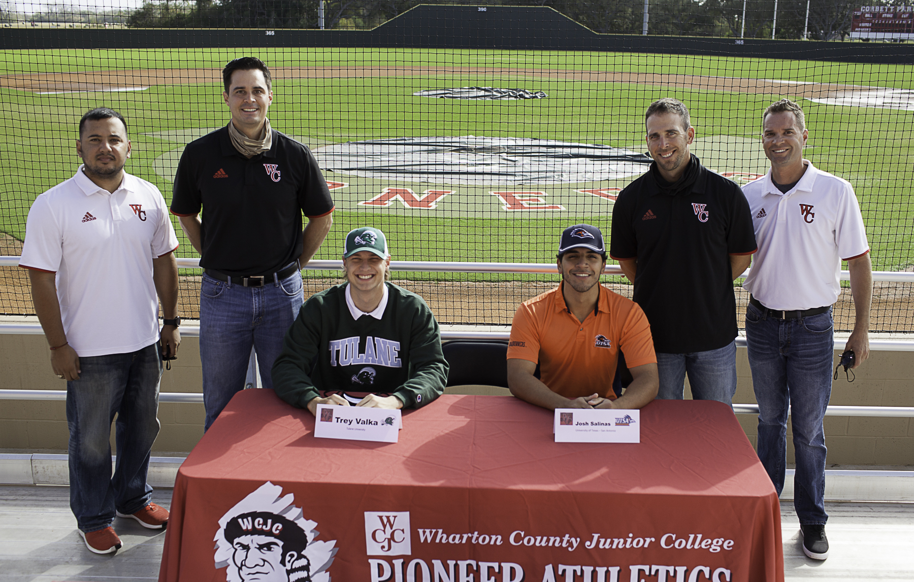 SIGNING DAY - WCJC baseball players sign to play ball at Division 1 universities