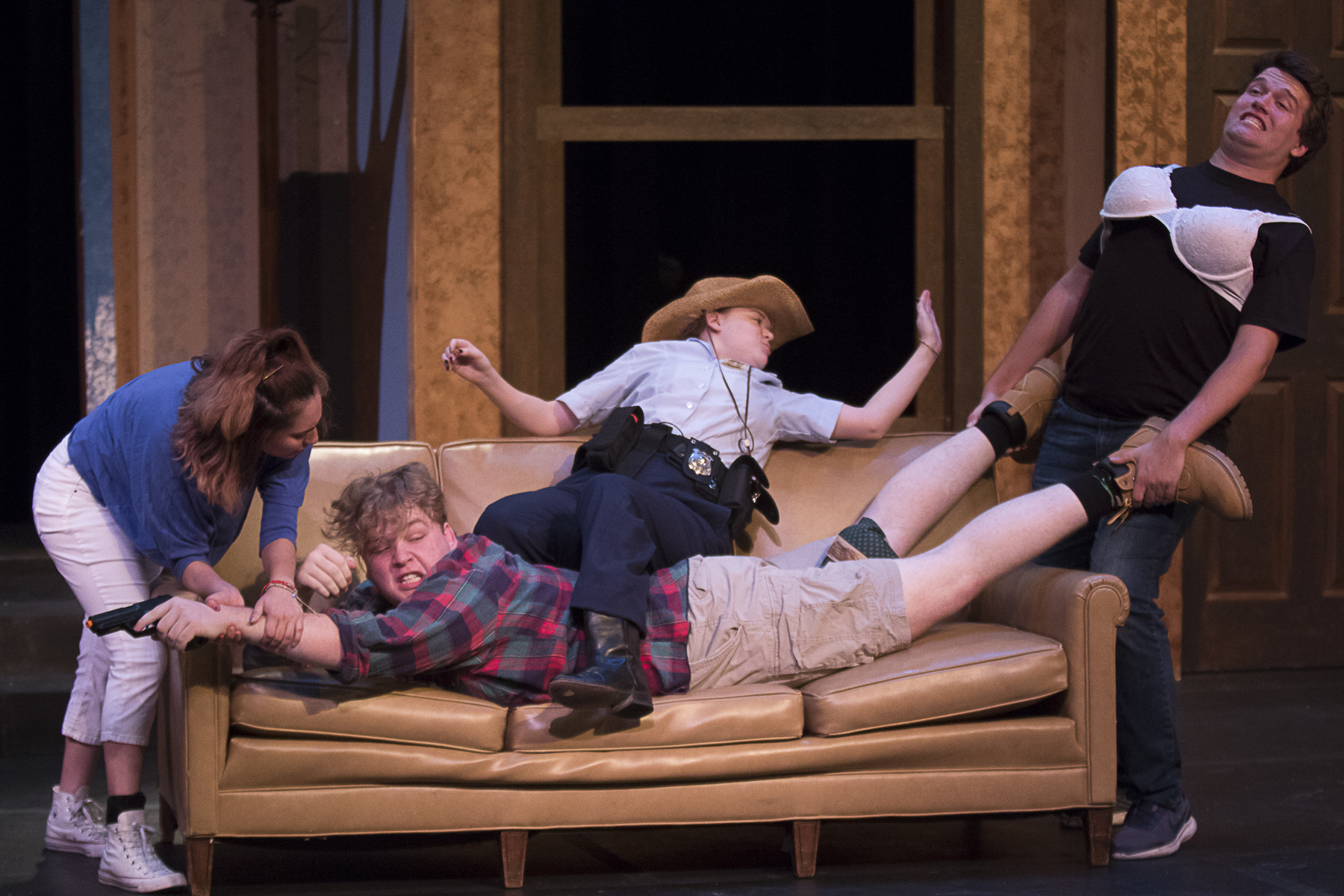 FARCE OF HABIT - WCJC Drama Department opens season with fast paced comedy