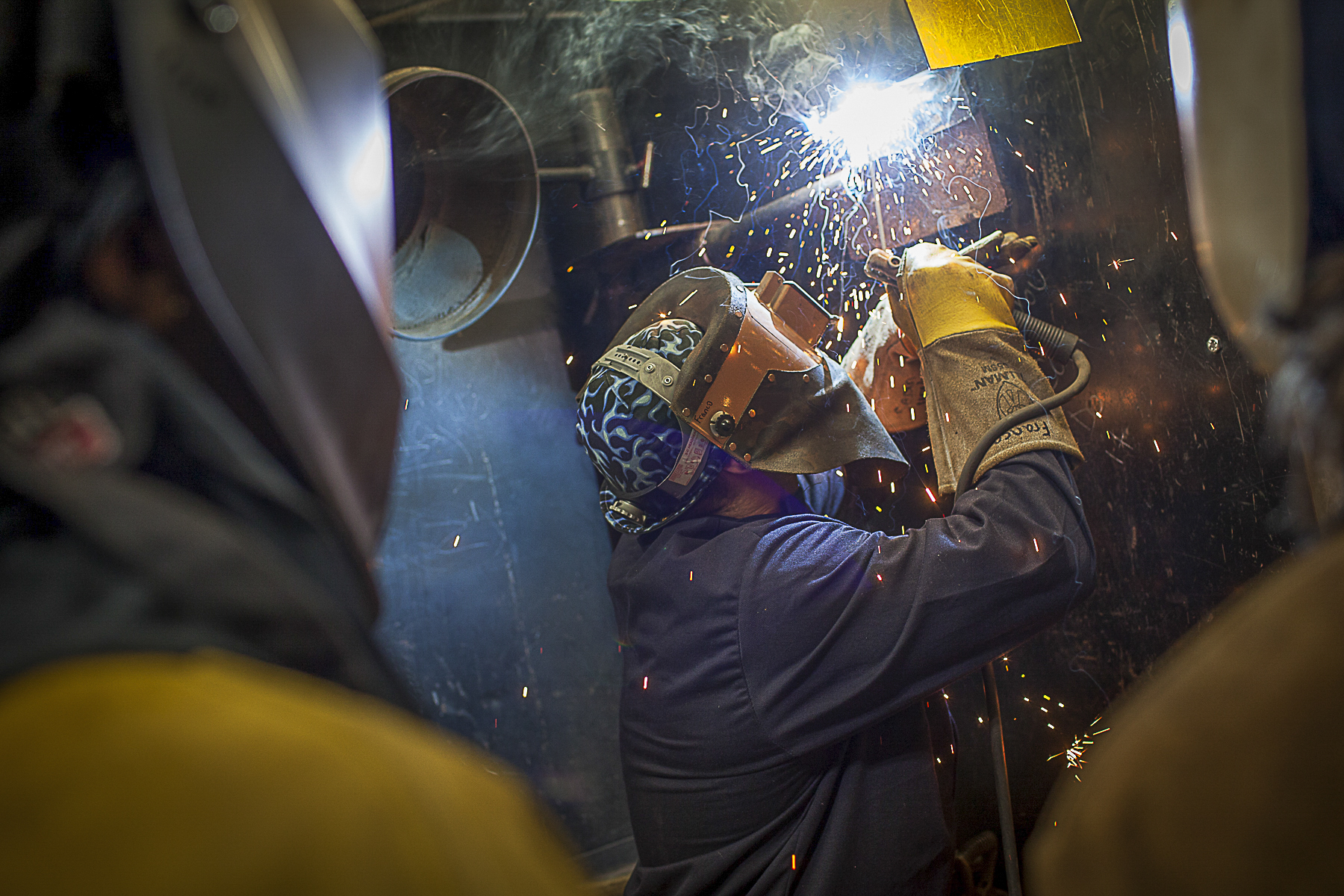 A SOLID STRUCTURE WCJC's Welding Technology Program prepares graduates for workforce