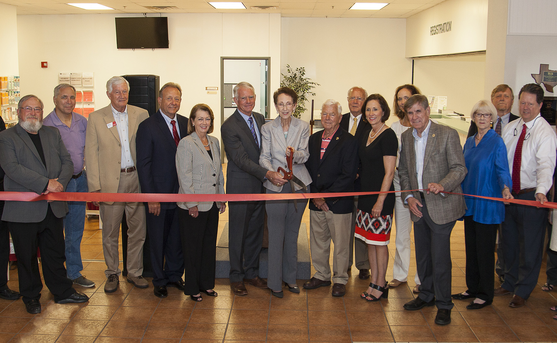 CAUSE TO CELEBRATE Ribbon cutting ceremony marks completion of Richmond Campus project