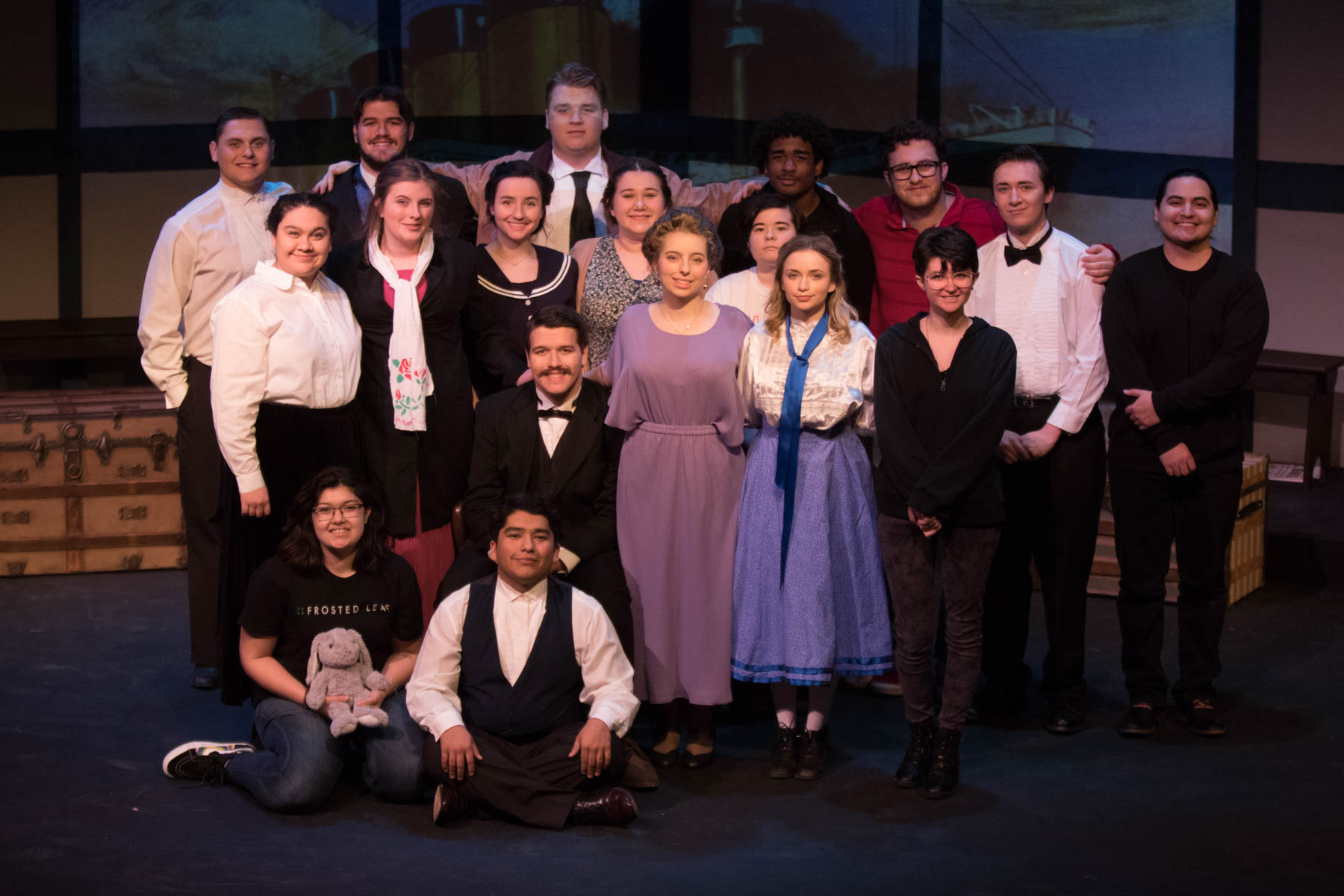OUTSTANDING DRAMA PERFORMANCE - WCJC Drama Department students take home play festival awards