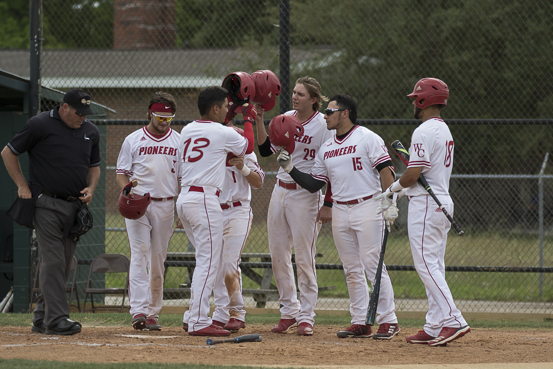 A SUCCESSFUL SEASON - WCJC Pioneers Baseball Team finishes third in conference