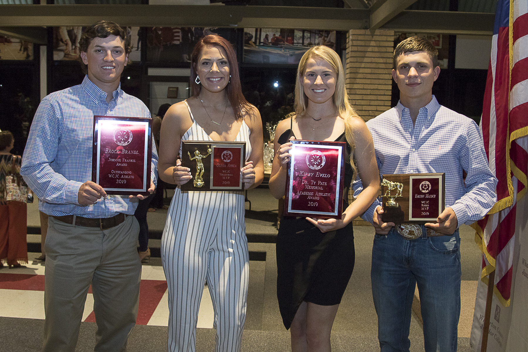 ATHLETIC ACCOMPLISHMENT - WCJC recognizes student athletes at annual event