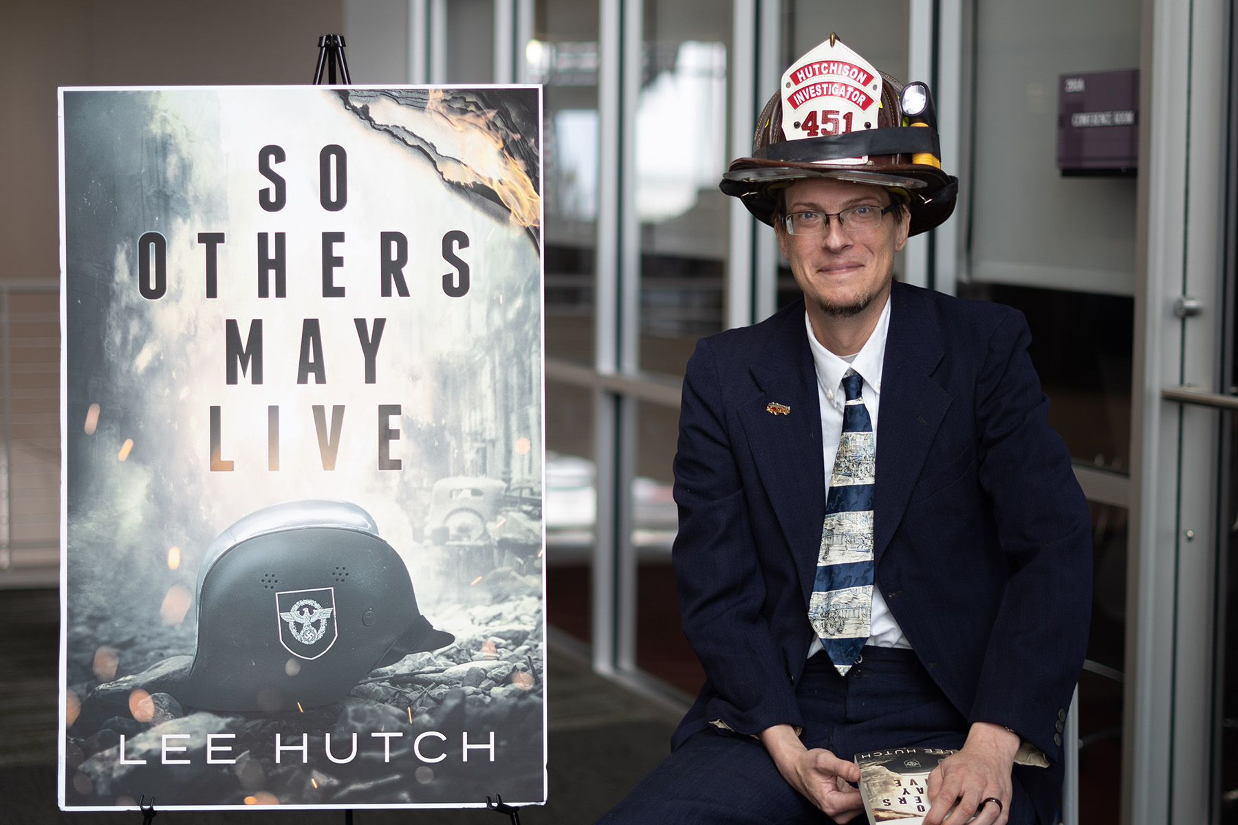 SO OTHERS MAY LIVE - WCJC's Hutchison publishes first novel