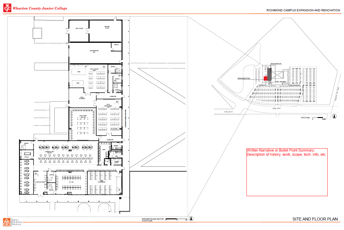 Richmond Campus Upgrades floor plan