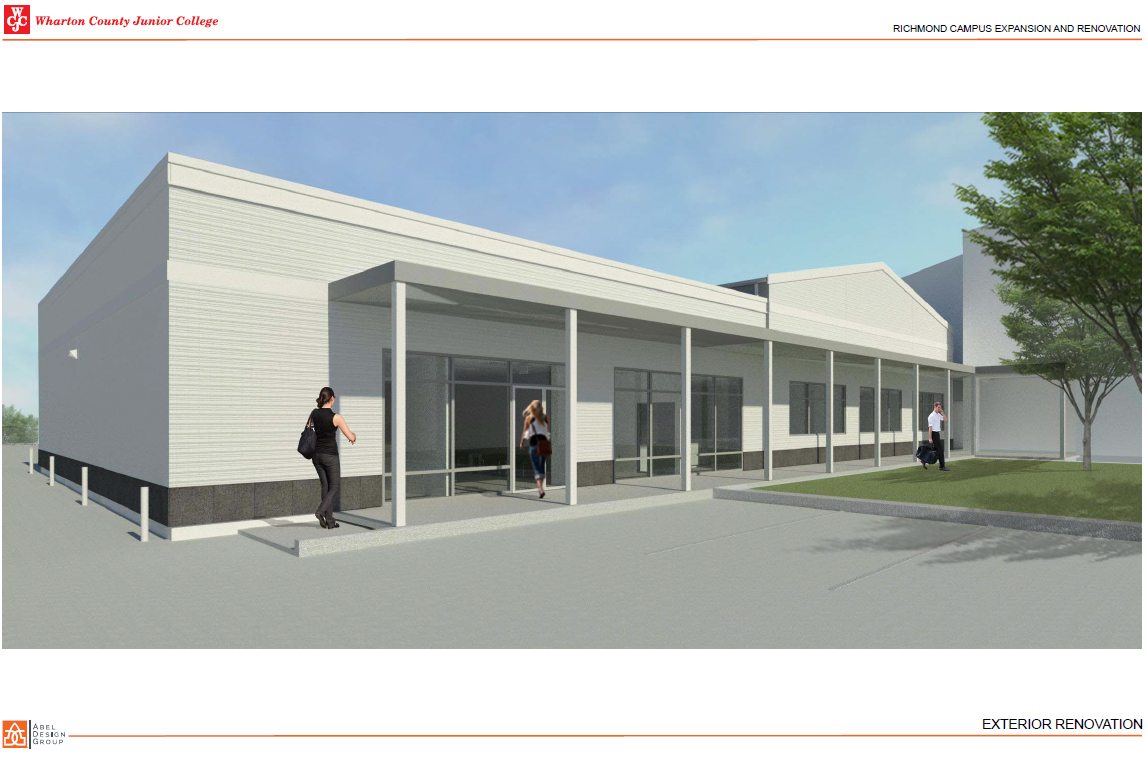 Richmond Campus Upgrades rendering 1