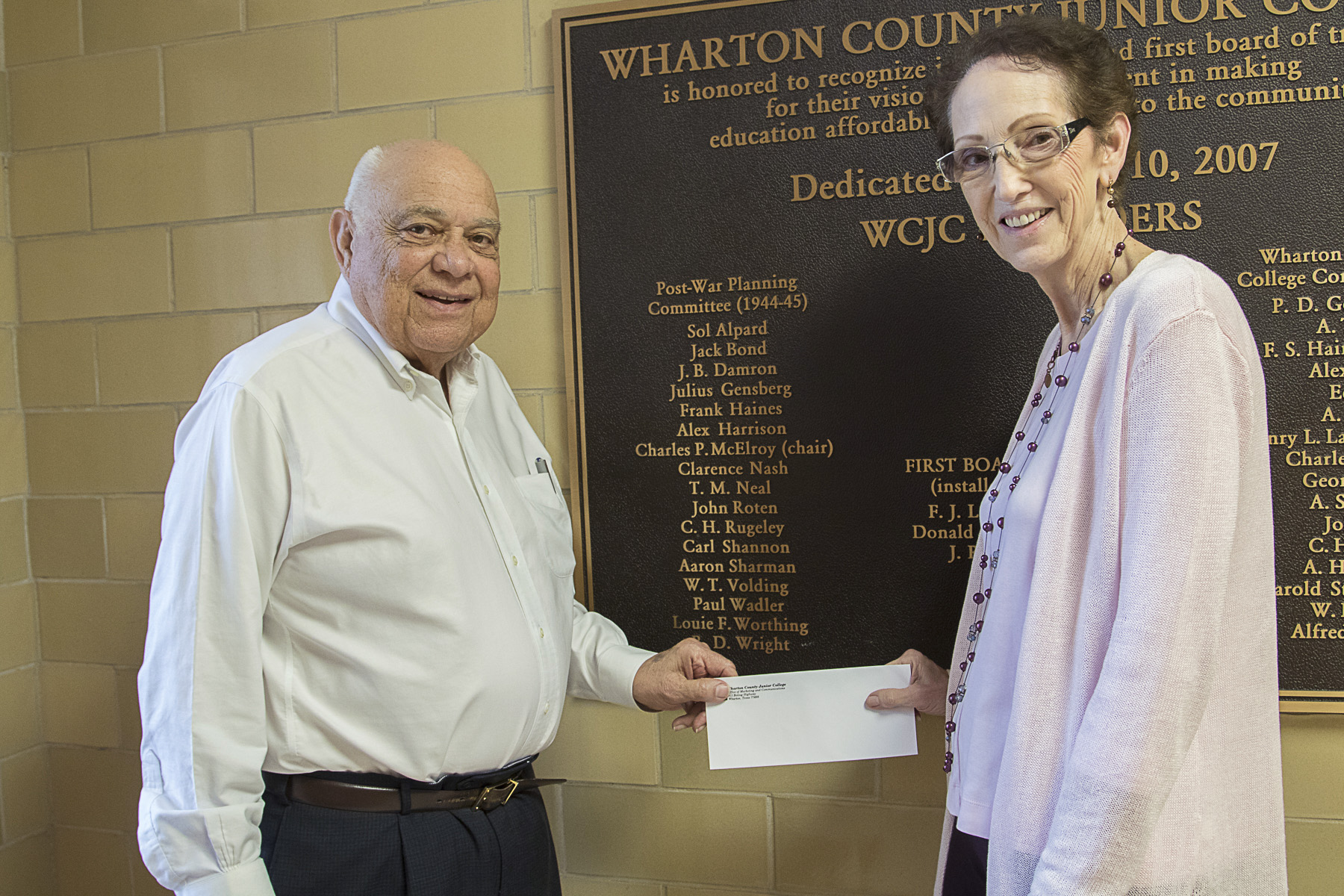 WCJC Foundation Donation