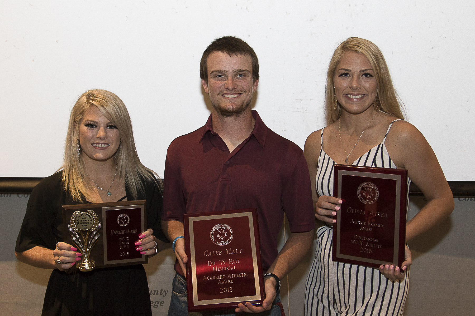 ATHLETIC ACHIEVEMENT WCJC recognizes outstanding student athletes at annual banquet