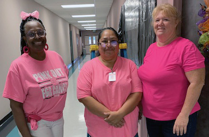 PINKED OUT FOR CANCER - WCJC Senior Citizens Program observes Breast Cancer Awareness Month
